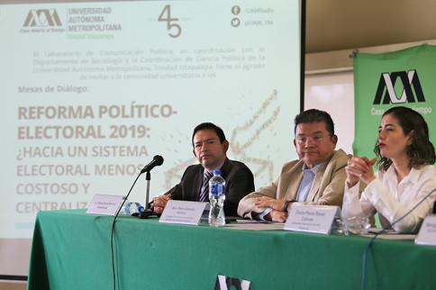 Alfonso Rojas, Pedro Zamudio y Dania Paola Ravel
