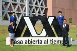 Integrantes de la Séptima edición del Modelo de Naciones Unidas de la UAM (MONUUAM 2020)  Foto: Archivo UAM-DCS / Alejandro Juárez Gallardo.