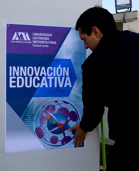 Primera jornada de innovación educativa.  Foto: Archivo UAM-DCS / Alejandro Juárez Gallardo.