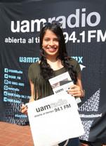 UAM Radio 94.1 FM En vivo desde tu unidad. Transmisión desde la Unidad Azcapotzalco.   Foto: Archivo UAM-DCS / Alejandro Juárez Gallardo.