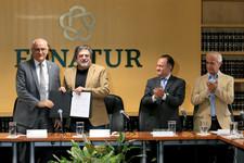 Eduardo Peñalosa Castro, Arq. Rogelio Jiménez Pons, Dr. Joaquín Flores Méndez y Lic. Alejandro Varela Arrellano