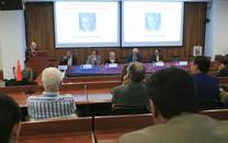 Participaron en el nombramiento como Profesora Emérita de la doctora Rosa María Velasco Belmont.  Foto: Archivo UAM-DCS / Alejandro Juárez Gallardo.