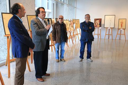 Mtro. Federico Bañuelos, Dr. Rodrigo Díaz, Ariel Jiménez y Mtro. Raúl Gasca