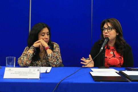 Dra. Angélica Buendía Espinosa y Dra. Carmen Enedina Rodríguez Armenta