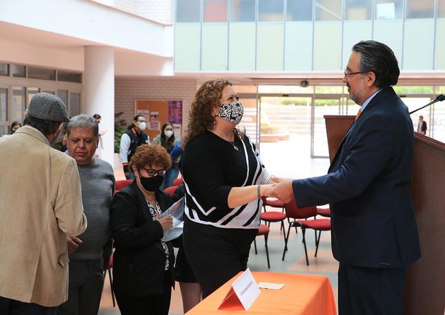 El maestro Octavio Mercado tomó posesión como titular de la Unidad Cuajimalpa de la UAM para el periodo 2021-2025.