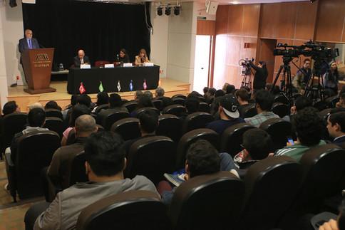 Dr. Eduardo Peñalosa Castro, Dr. José Ramón Cossío Díaz, Dr. René Suárez Molnar y Dra. Mariana Moranchel Pocaterra