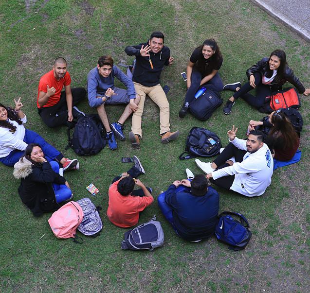 Alumnos. 24/02/2020  Foto: Archivo UAM-DCS / Alejandro Juárez Gallardo.