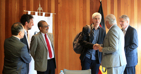La Universidad Autónoma Metropolitana y la Universidad de Vechta acuerdan promover la ciencia y la educación. Las partes firmaron convenios de cooperación general y específico.  Foto: Archivo UAM-DCS / Alejandro Juárez Gallardo.