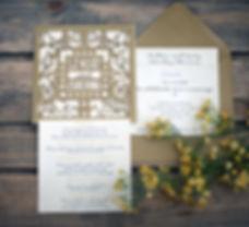 Charlotte Willis Designs Wedding Invitation