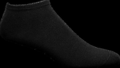 DSocks SVART Sneaker / Ankelstrumpa