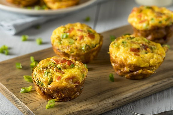 Egg Muffins with Red Potato