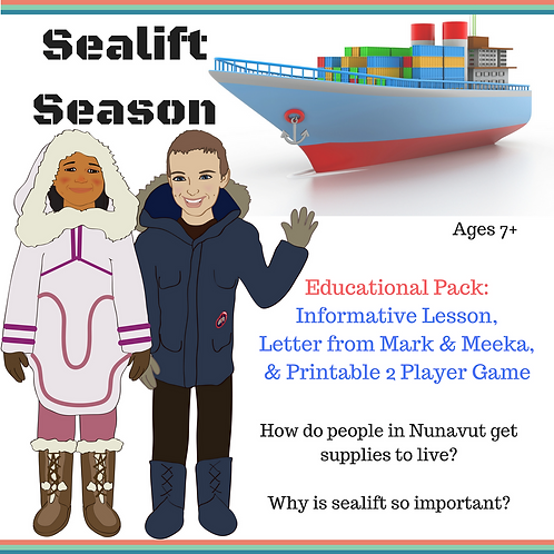 Arctic Sealift Season - Game & Educational Pack