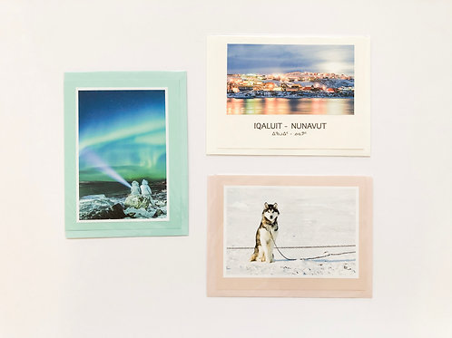 """Iqaluit Nights""- Greeting Card Set (3)"