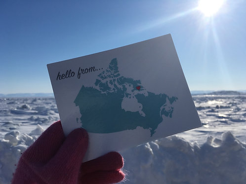 Single Postcard from the North