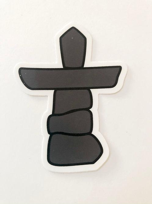 Inuksuk Sticker