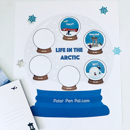 3 Months- Life in the Arctic- Postcard Subscription