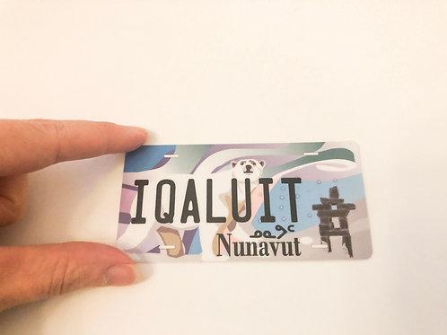 Iqaluit Licence Plate Sticker