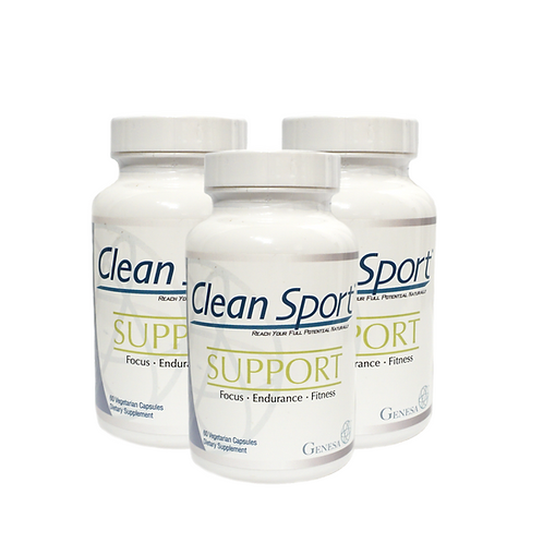 3-Pack Clean Sport® SUPPORT