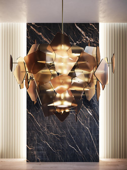 ELIE SAAB Maison: Diamond Chandelier