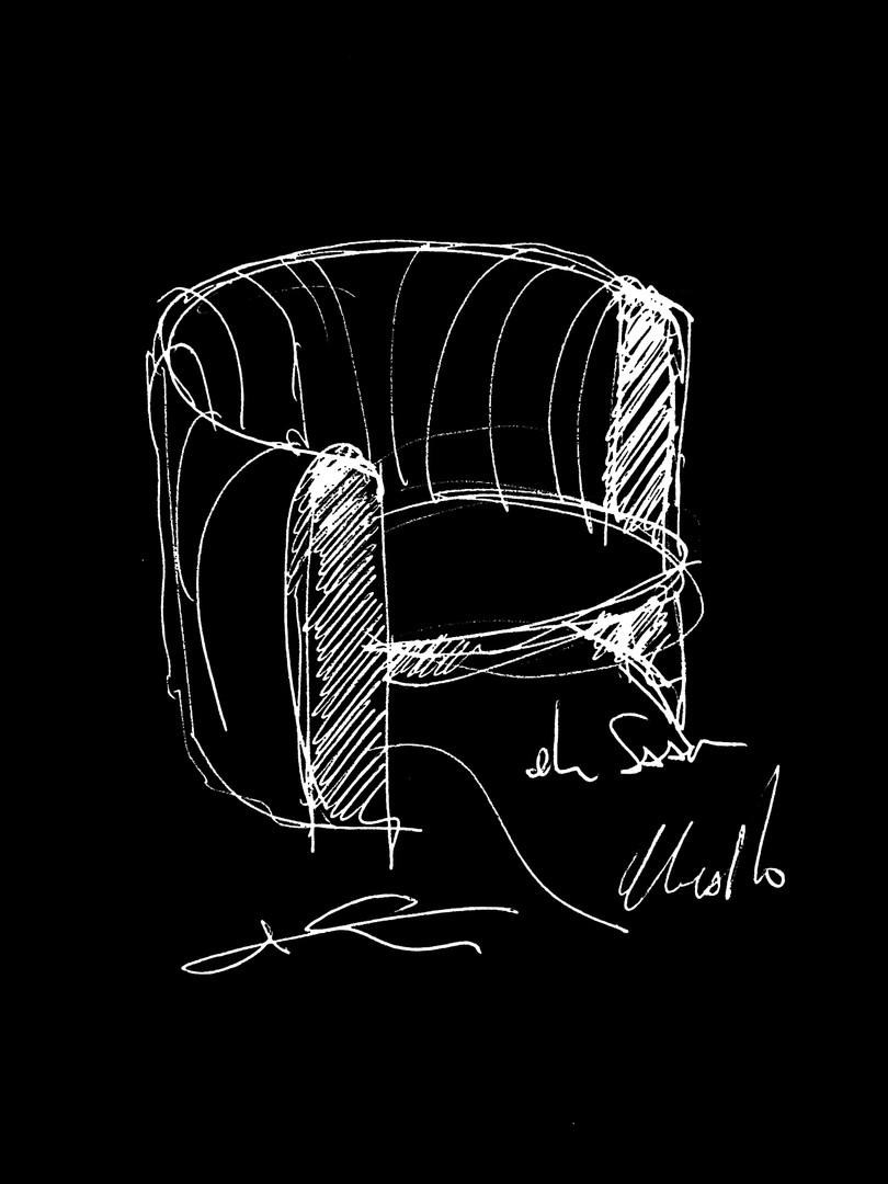 ELIE SAAB Maison: Kate Armchair