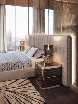 ELIE SAAB Collection: Monolith Bed