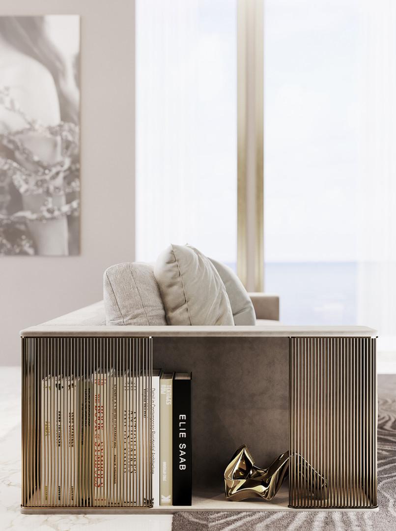 Elie Saab Maison: Legacy Sofa