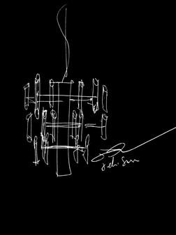 ELIE SAAB Maison: Narcisse Chandelier