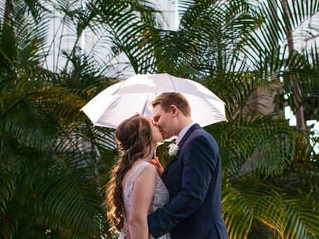 Lauren + John | Jewel Box & Hotel St. Louis Wedding
