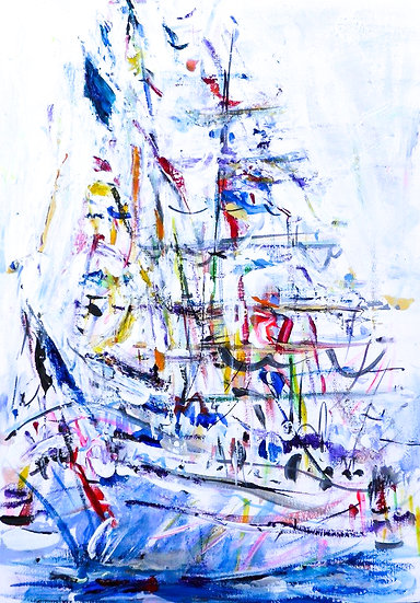 Study for Tall Ship