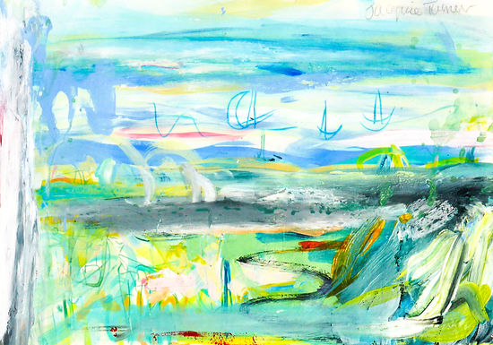 Through Debbies window - Summer Provence
