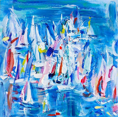 Study for Round the Island Race