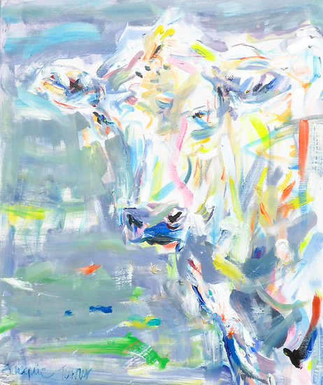 Hatties Cow 1  (Cow Series)
