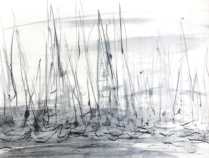 Start Line (White Sails) ink 5