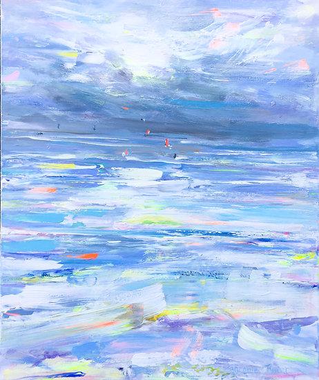 Kite Surfers Shoreham Beach