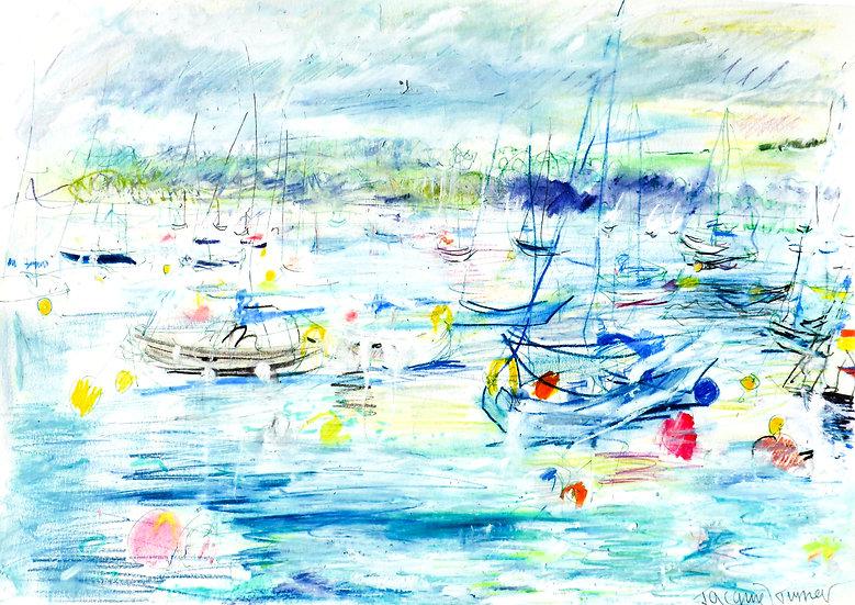 From Vixens Mooring , Falmouth Estuary