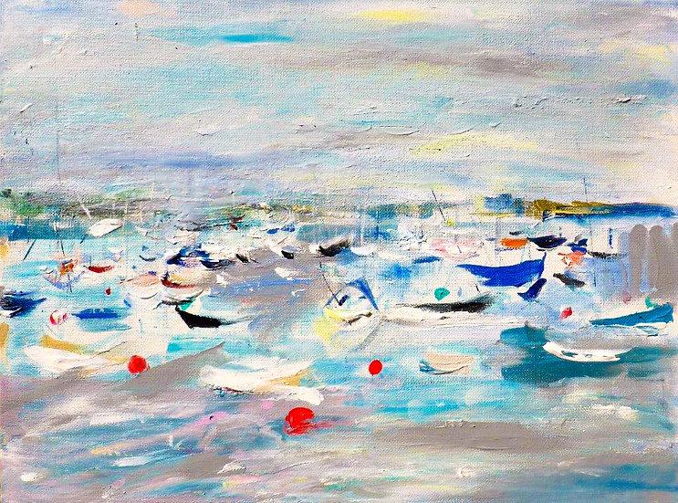 Mylor Yacht Harbour Moorings from Vixen
