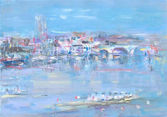 Henley, Boats and the Bridge II