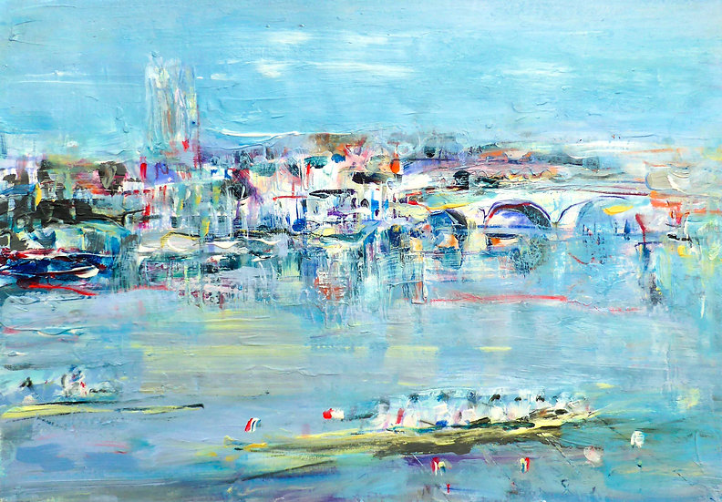 Henley, Boats and the Bridge II