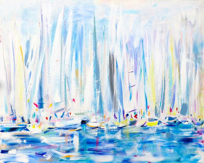 Start Line(White Sails) V