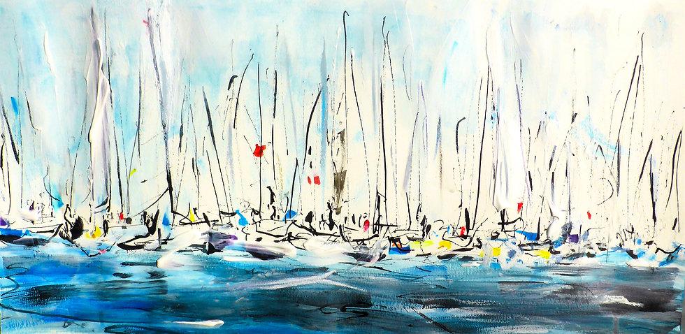 Start Line (White Sails) VIII