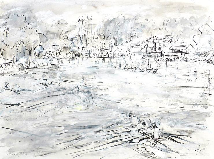 Ink Sketch - Henley Regatta 2