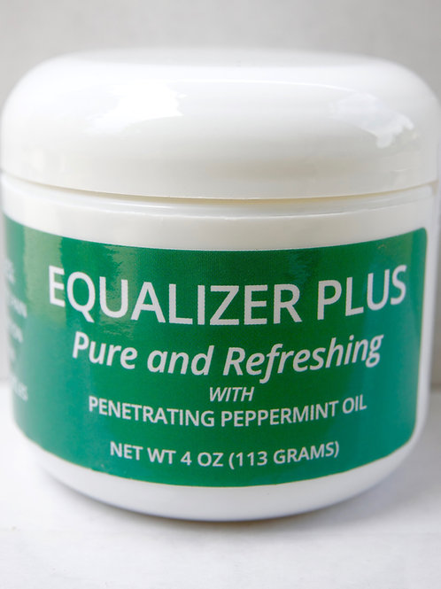 Equalizer Plus With Peppermint Oil 4oz. Jar