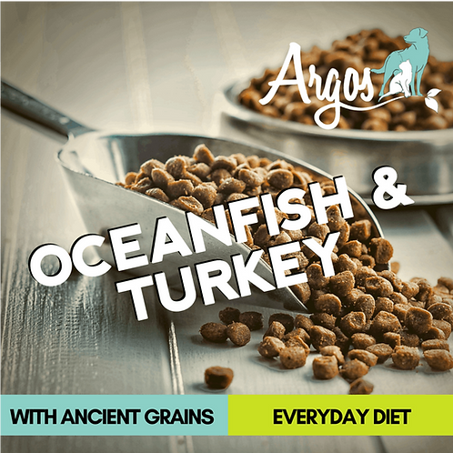 Oceanfish & Turkey 40 Lb. Bag
