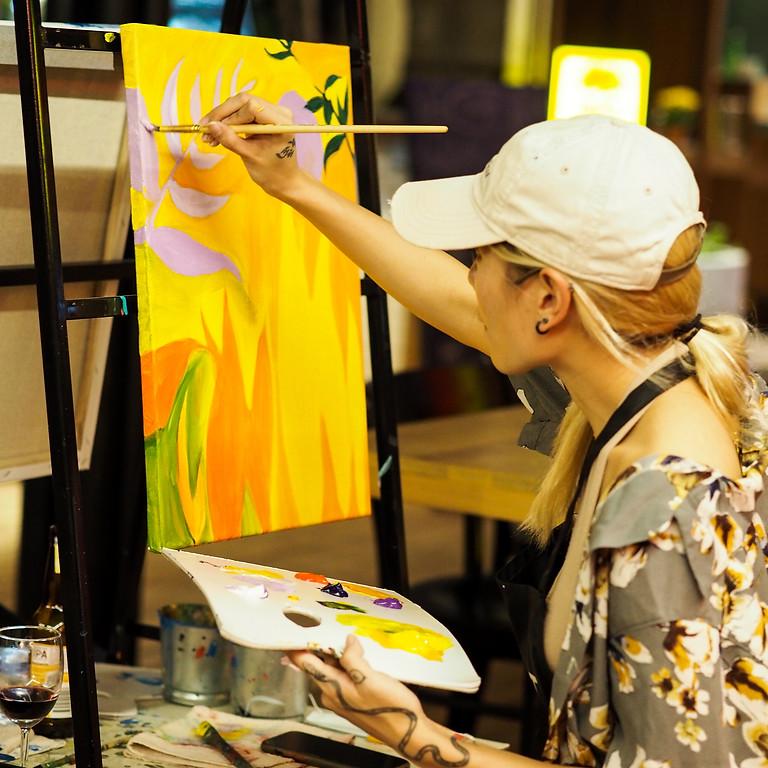 MTMT Studios x REXKL: Tipsy Painting (Art Jam)