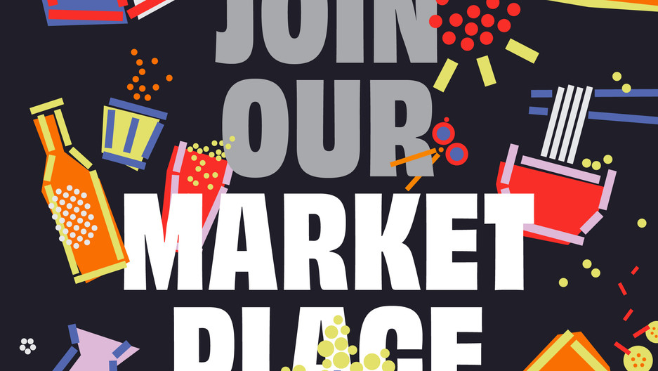 Join our marketplace 2021 at The Back Ground