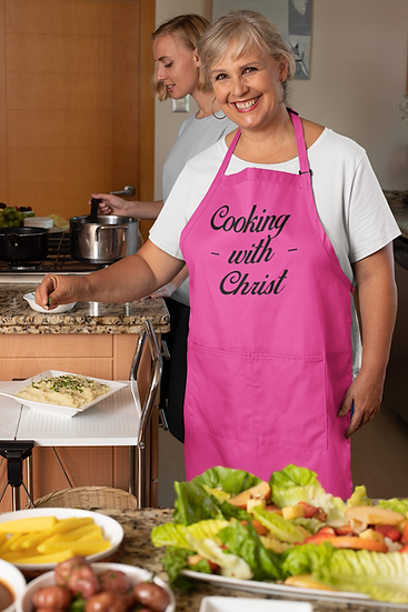 Cooking With Christ - Apron