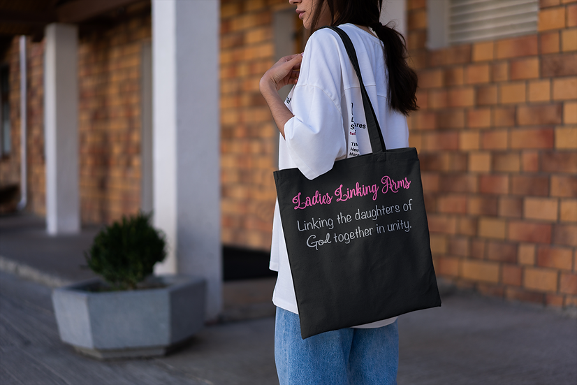 Ladies Linking Arms Ministry - Tote Bag
