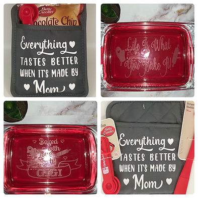 Personalized Baking Gift Items