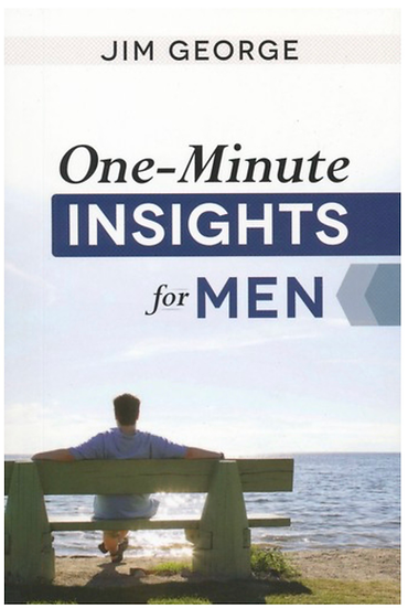 One-Minute Insights for Men - Devotional