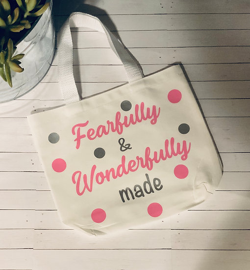 Fearfully & Wonderfully Made Totes For Girls